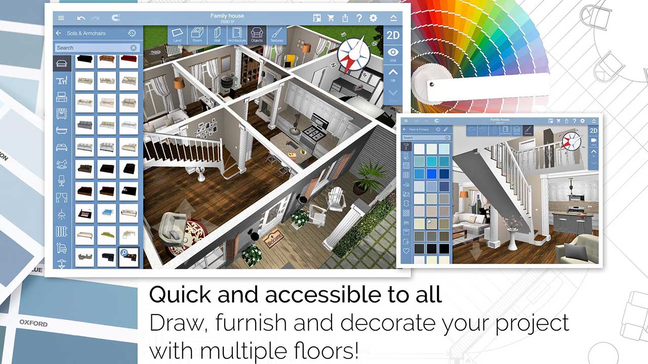 A fresh new gallery has been added to home design 3d! Home Design 3d Mod Apk 4 5 5 Download Unlocked Free For Android