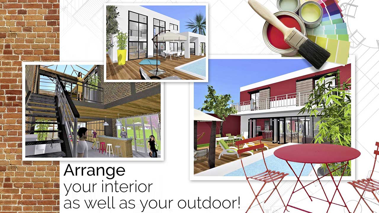 With its help, any user will be able to visualize their own house or apartment in virtual form, and then have the opportunity to furnish it with furniture in accordance with your taste. Home Design 3d Mod Apk 4 5 5 Download Unlocked Free For Android