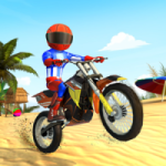 Bike Beach Game Stunt and Racing Motorcycle Games 7.7 APK MOD Unlimited Money