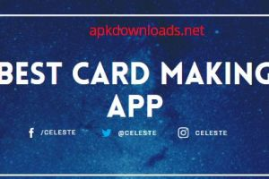 business card amking app