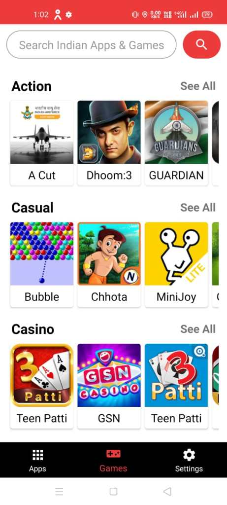 china apps detecto, indian apps store