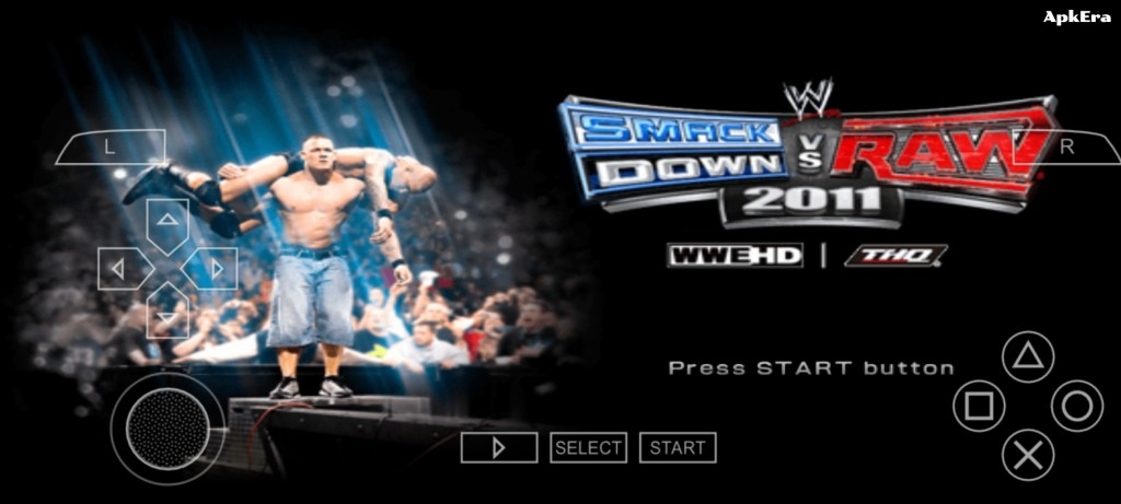 WWE SmackDown vs Raw 2011 PPSSPP Download