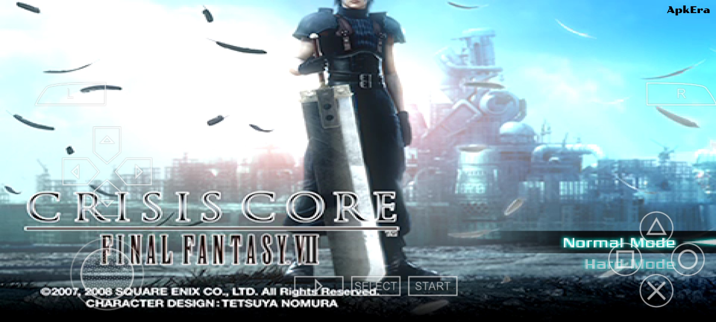 Crisis Core: Final Fantasy VII PPSSPP Download