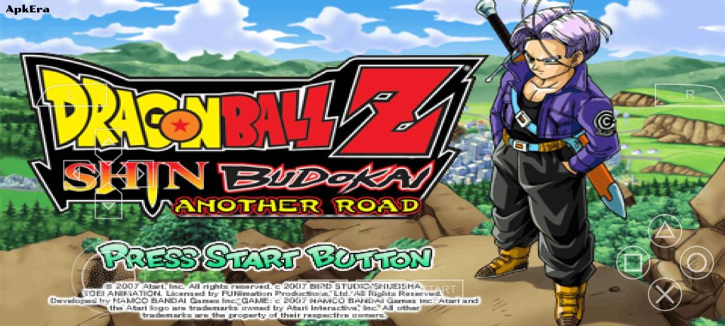 Dragon Ball Z Shin Budokai Another Road PPSSPP Download