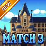 Jewel Royal Castle Match3 puzzle
