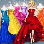 Model Fashion Red Carpet Dress Up Game For Girls