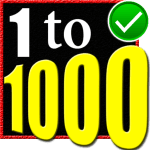 Learn 1 to 1000 Numbers