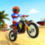 Beach Bike Stunts Crazy Stunts and Racing Game