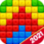 Toy Bomb Blast Match Toy Cubes Puzzle Game