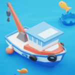 Fish idle hooked tycoon. Fishing boat hooking 4.0.5