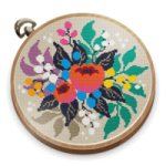 Cross Stitch Club Color by Numbers with a Hoop 1.4.33