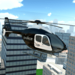 Police Helicopter City Flying 1.2