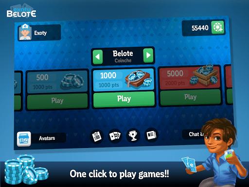 Multiplayer Belote amp Coinche 6.7.0 screenshots 15