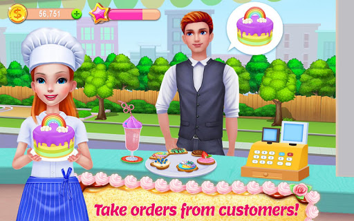 My Bakery Empire – Bake Decorate amp Serve Cakes 1.1.5 screenshots 2