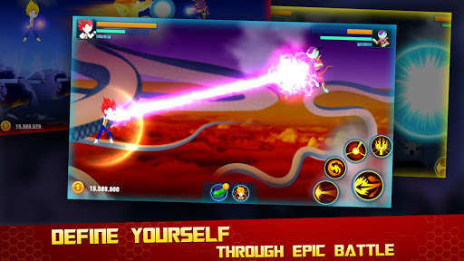 Stick Z Super Dragon Fight 2.5 screenshots 4