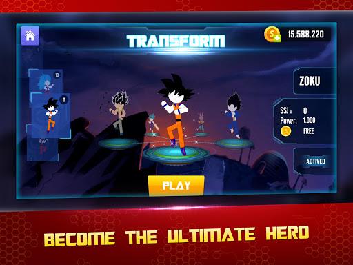 Stick Z Super Dragon Fight 2.5 screenshots 9