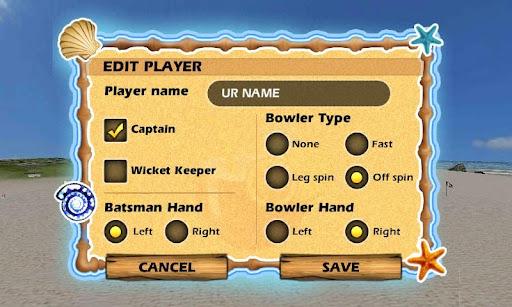 Beach Cricket 2.5.5 screenshots 4