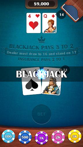 Blackjack 21 – casino card game 2.5 screenshots 3