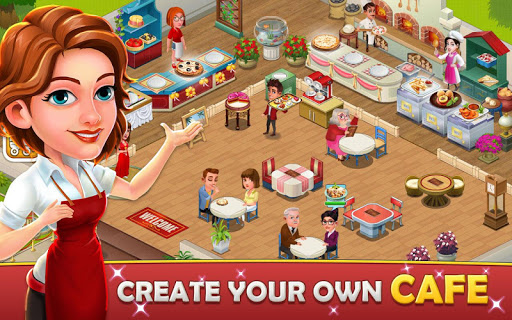 Cafe Tycoon Cooking amp Restaurant Simulation game 4.5 screenshots 1