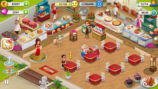 Cafe Tycoon Cooking amp Restaurant Simulation game 4.5 screenshots 12