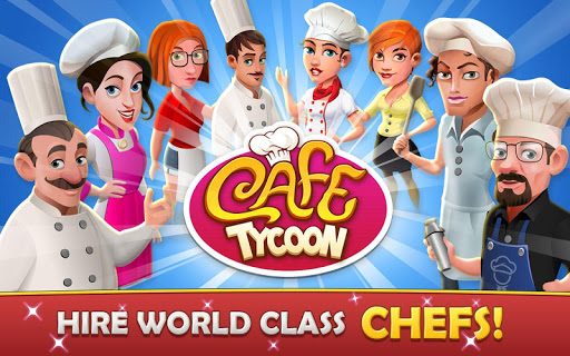 Cafe Tycoon Cooking amp Restaurant Simulation game 4.5 screenshots 2