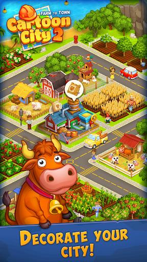 Cartoon City 2Farm to Town.Build your homehouse 1.78 screenshots 23