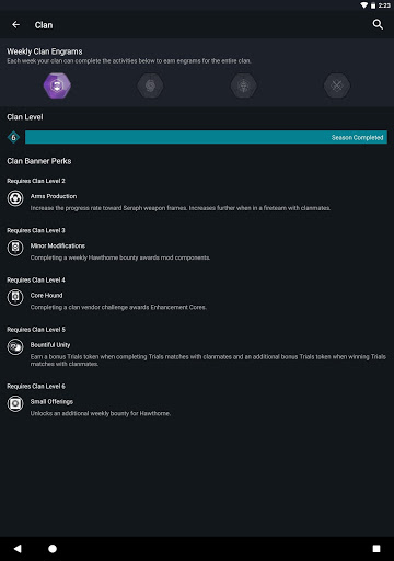 Destiny 2 Companion 13.9.4 build 799 screenshots 10