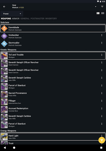 Destiny 2 Companion 13.9.4 build 799 screenshots 9