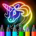 Download Learn to Draw Glow Cartoon 1.0.16 APK