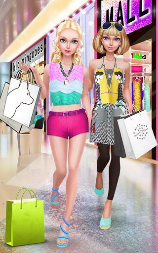 Fashion Doll Shopping Day SPA Dress-Up Games 2.5 screenshots 6
