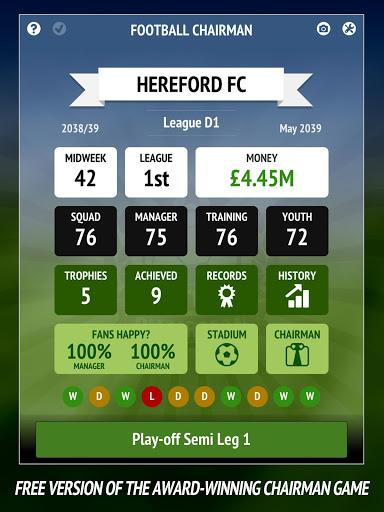 Football Chairman – Build a Soccer Empire 1.5.2 screenshots 6