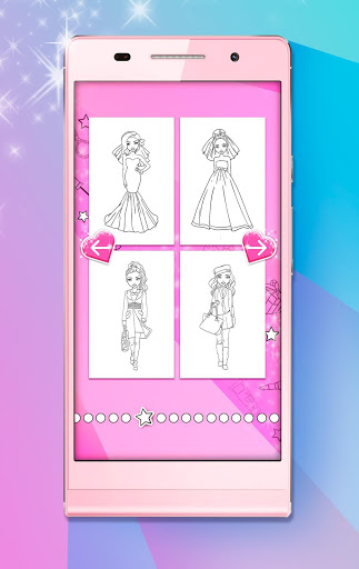 Girls Coloring Pages 1.18.4 screenshots 2