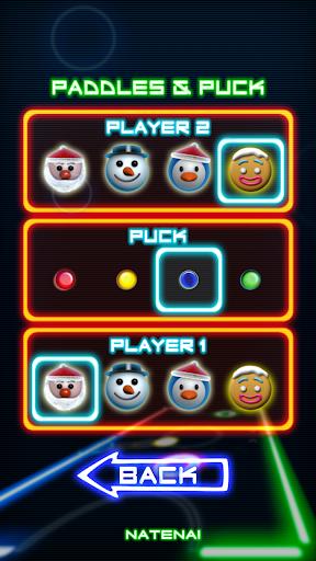 Glow Hockey 1.3.9 screenshots 4