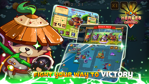 Heroes Defender Fantasy – Epic TD Strategy Game 1.1 screenshots 6