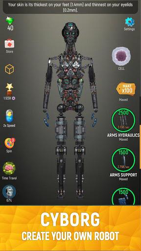 Idle Human 1.9.7 screenshots 4