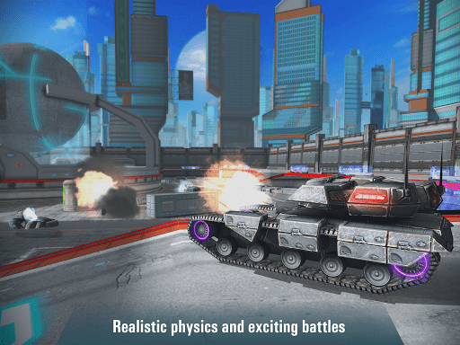 Iron Tanks Free Multiplayer Tank Shooting Games 3.04 screenshots 17