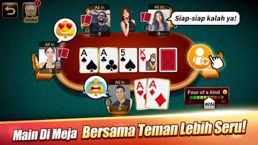 LUXY Domino amp Poker Gaple QiuQiu QQ 99 Remi 5.1.6.0 screenshots 3