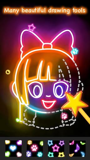 Learn to Draw Glow Cartoon 1.0.16 screenshots 5
