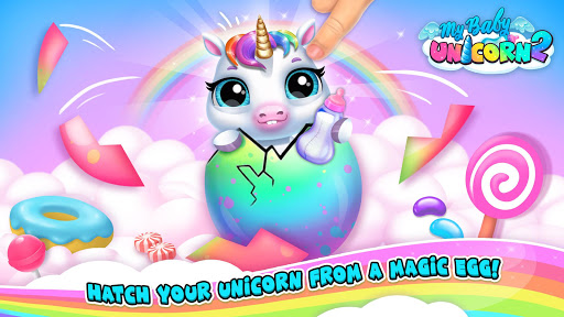 My Baby Unicorn 2 – New Virtual Pony Pet 1.0.44 screenshots 5