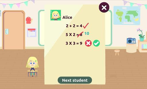 MySchool – Be the Teacher Learning Games for Kids 3.1.1 screenshots 5