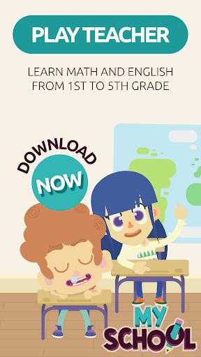 MySchool – Be the Teacher Learning Games for Kids 3.1.1 screenshots 9