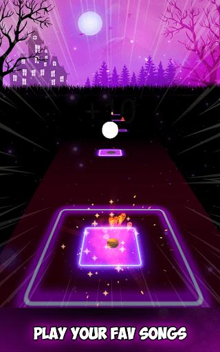 Neon Tiles Hop Color Ball Forever Dancing Ball 1.2 screenshots 12