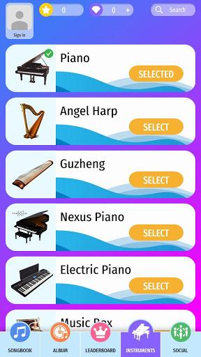 Piano Beat Tiles Touch 4.8 screenshots 4