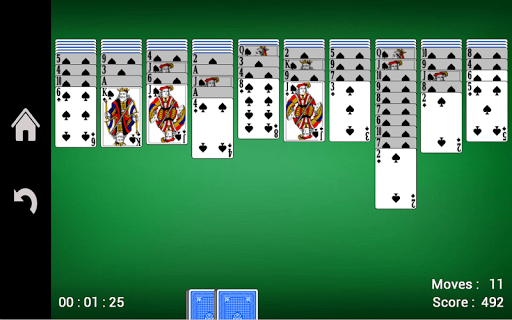 Spider Solitaire 1.16 screenshots 7
