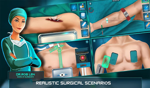 Surgeon Doctor 2018 Virtual Job Sim 1.6 screenshots 11