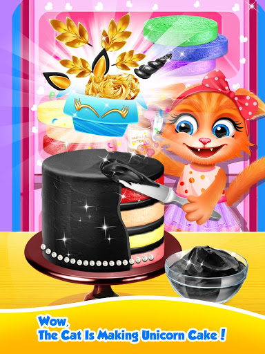 Unicorn Food – Sweet Rainbow Cake Desserts Bakery 2.8 screenshots 7