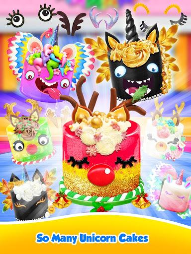 Unicorn Food – Sweet Rainbow Cake Desserts Bakery 2.8 screenshots 8