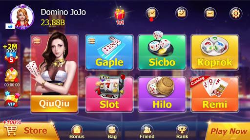 ZIK Domino QQ 99 QiuQiu KiuKiu Online 1.7.0 screenshots 1