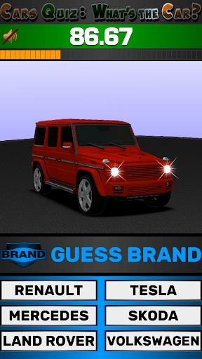 Cars Quiz 3D 2.2.1 screenshots 23