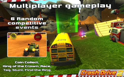 Crash Drive 2 3D racing cars 3.70 screenshots 7